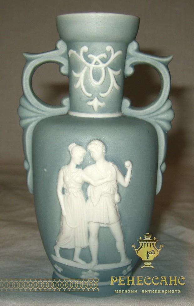 Вазочка из фарфора Wedgwood (Веджвуд) Англия начало 20 века №358