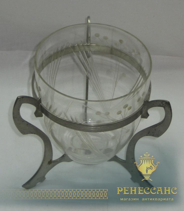 Конфетница, ваза, вазочка, WMF Германия начало 20 века №1375