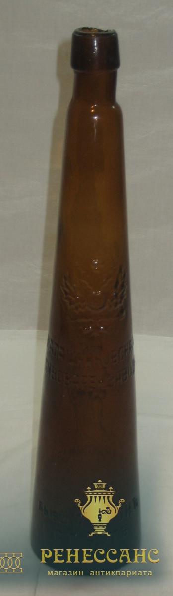 Бутылка пивная старинная, Россия 19 век №1401