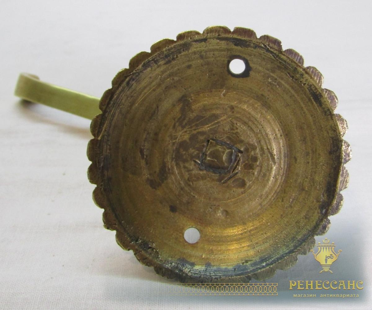 Крючок старинный латунный №6926