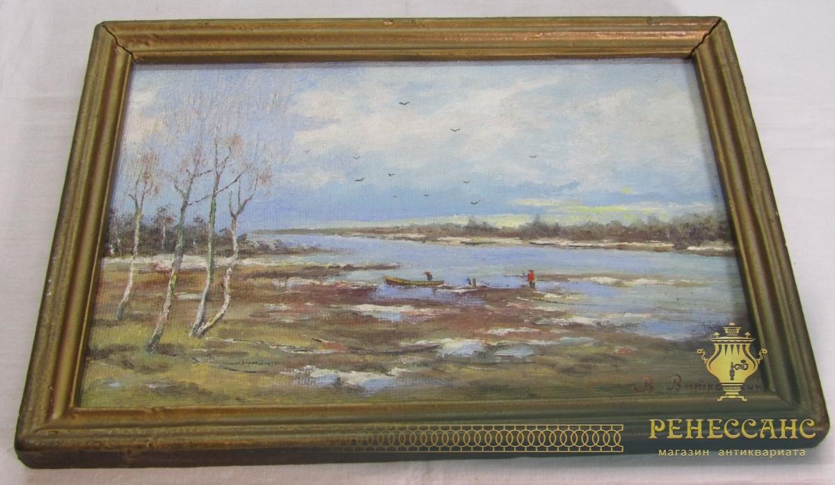 Картина, пейзаж, «Витковский» 1977 год №7263