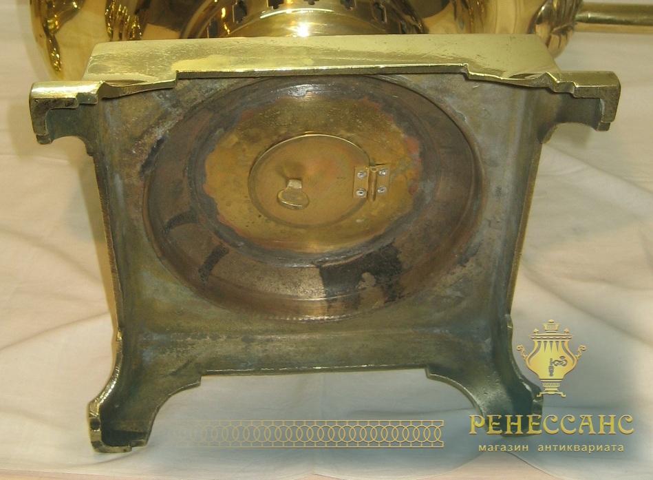 Самовар «банка» трактирный на 35 литров, латунь, «ТПЗ» Россия, 1920-е годы №478