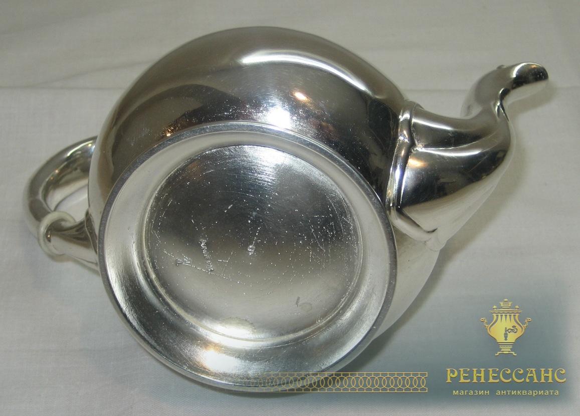 Чайник заварочный, покрыт серебром, Европа №1576