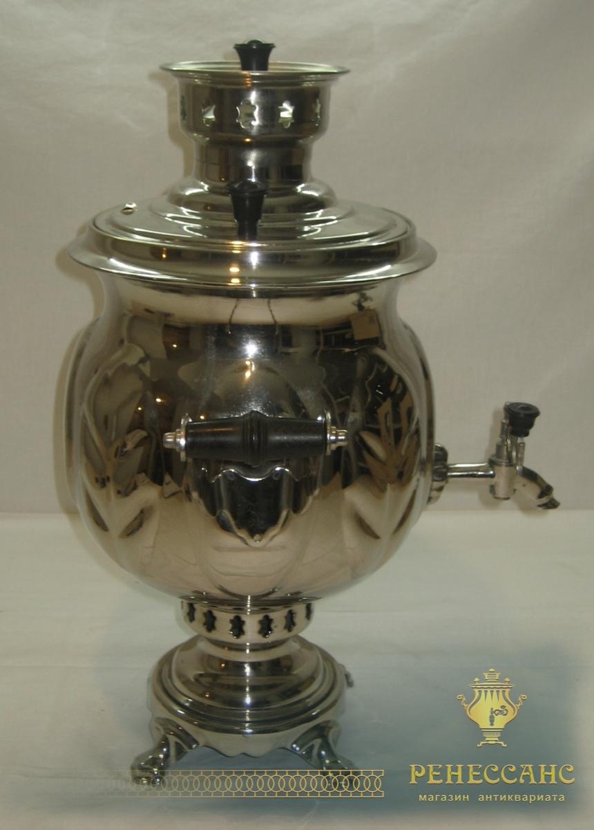 Самовар на дровах «ваза», 5 литров, 1984 года №514