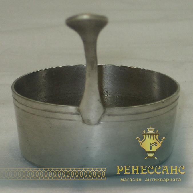 Ковшик маленький, серебрение, «Henniger» Варшава 19 век №1722