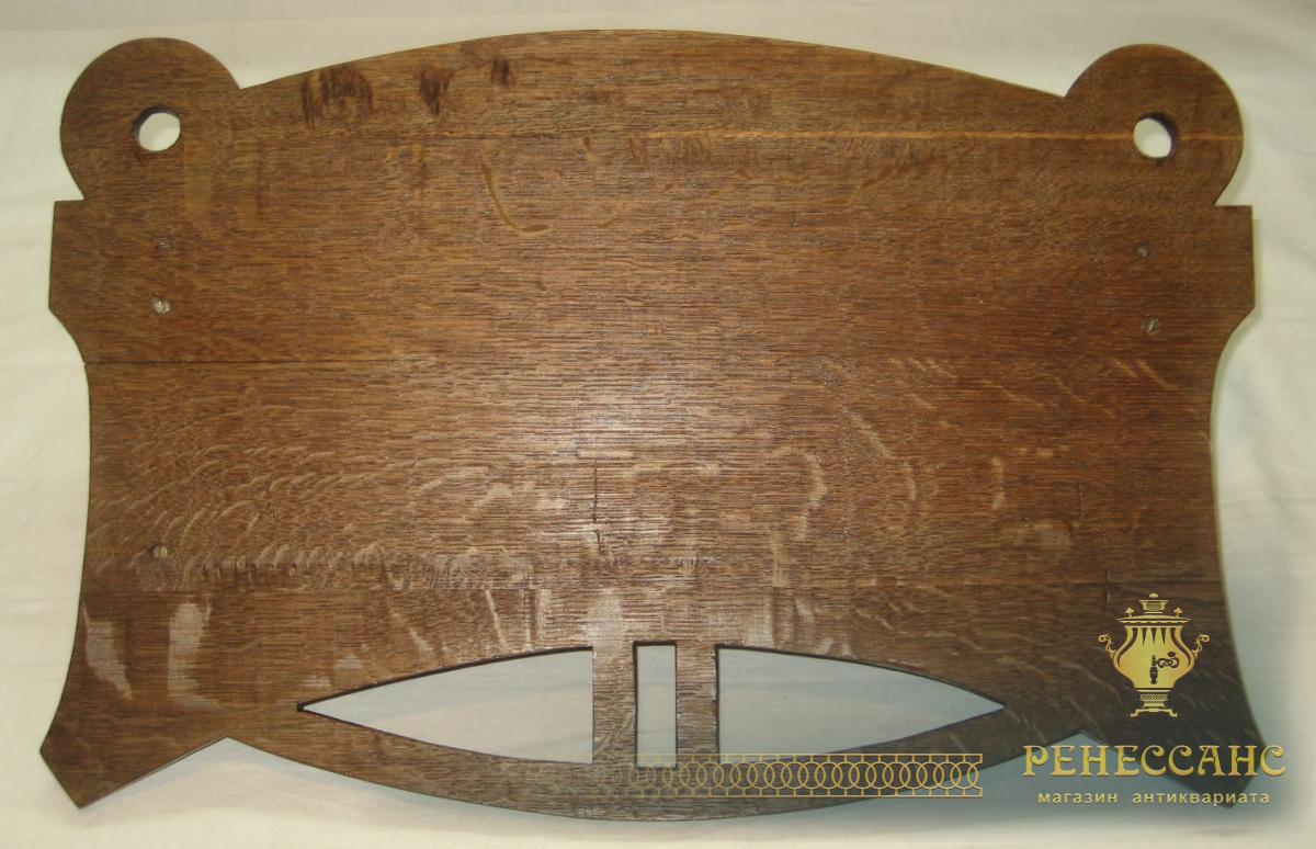 Полочка для полотенец, выполнена из дуба, модерн, Россия 19 век №1730