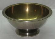 Полоскательная чаша большая в никеле «Т.К.» №1214