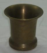 Ступа без пестика из бронзы 20 век №1247