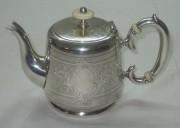 Чайник заварочный серебрение Norblin Варшава 19 век №1269