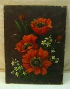 Картина «Маки» 1990 года №957