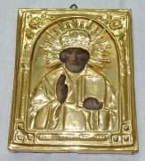 Икона «Николай Чудотворец» позолота Россия 19 век №929
