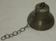 Колокол поддужный, колокольчик старинный, «Ф.М. Трошина в Пурихъ» №1638