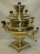 Самовар угольный «репка», большой, на 7 литров, «Бр. Шемариныхъ» №595