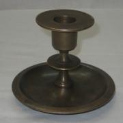 Подсвечник старинный, бронза, Россия 19 век №2022