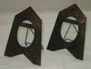 Рамки для фото старинные, парные, в стиле «ар-деко», 19 век №2045