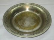 Тарелочка, блюдце, серебрение, «А. Кач» 19 век №2051