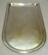 Поднос под самовар «арка», серебрение, «В.А. Салищева» 19 век №2036