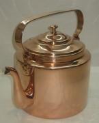 Чайник медный старинный, на 5 литров, «Кольчугинъ» №2134