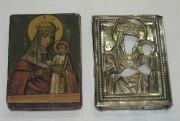 Икона «Толгская Богородица», маленькая, серебро 84 пробы №2189