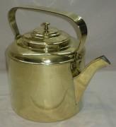 Чайник старинный из латуни, на 5 литров, клеймо №2197