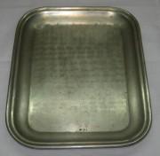 Поднос прямоугольный, мельхиор, Россия 19 век №2205