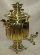 Самовар угольный «фонарь», на 7 литров, «И.И. Медведева» №655