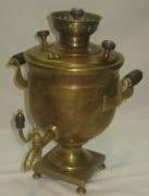 Самовар старинный «ваза», на 1,4 литра, Россия 19 век №656