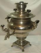 Самовар угольный «репка», на 3,5 литра, «И.Ф. Капырзина» №666