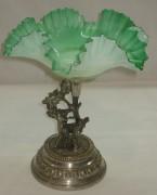 Конфетница «Олени», ваза старинная, модерн №2269