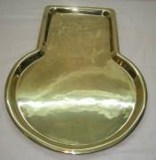 Поднос с кругом под самовар, «В.М. Гудковъ» 19 век №2220