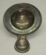 Ситечко для заварки, старинное, серебрение, «Плевкевич» №2312