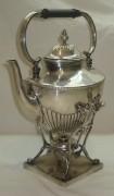 Бульотка старинная на 1,9 литра, серебрение, Европа 19 век №2318
