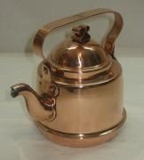 Чайник из меди, маленький, на 0,3 литра, Швеция 20 век №2347