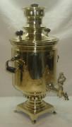 Самовар угольный «банка», на 4 литра, «Данилова» 19 век №683