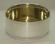 Сахарница серебряная, внутри позолота, серебро 84 пробы, Россия 1879 год №2385