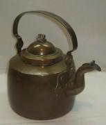 Чайник медный, красивая патина, Европа 20 век №2411