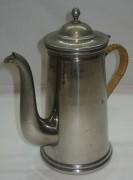 Кофейник старинный, в никеле, «Т.К.» №2414