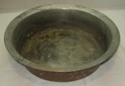 Таз старинный, тазик латунный, без реставрации №2428