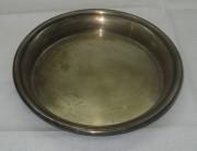 Блюдце старинное, серебрение, «Norblin» Варшава 19 век №2453