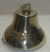 Колокольчик старинный, колокол поддужный, бронза, «Братья Поповы» №2470