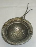 Ситечко старинное, серебрение, «Br. Buch» Варшава 19 век №2472