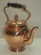 Чайник старинный медный, кофейник, «Кайзер» Германия начало 20 века №2477