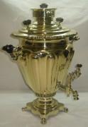 Самовар угольный «рюмка», на 4,5 литра, «Н.А. Воронцов» 19 век №714