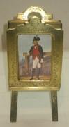 Рамка для фото старинная, картоньетка, в русском стиле, Россия 19 век №2518