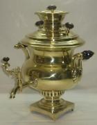 Самовар старинный «ваза», эгоист, на 1,5 литра, «Иван Катов» 19 век №720