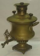 Самовар старинный эгоист «фонтан», на 1 литр, Россия 19 век №722