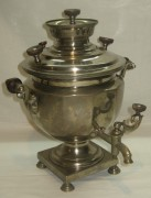 Самовар эгоист «чаша», на 1,2 литра, «Бр. Сомовых» 19 век №739