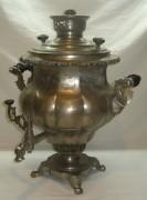 Самовар старинный «ваза» овально-ложчатая, на 7,5 литров, «Бр. Шемариных» 19 век №741