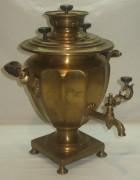 Самовар коллекционный «эгоист», томпак, «Маликов» 19 век №747