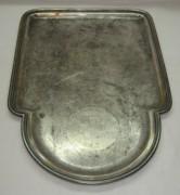 Поднос под самовар, серебрение, «Norblin» Варшава 19 век №2722